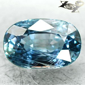 4.6 CT.Firely Unheated Natural Oval 7.5*11.5 mm. Intense Blue Tanga Sapphire Gem
