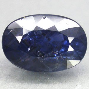 5.61 CT.Unheated Not Enhanced Natural Oval 8*12 mm. Tanga Mine Blue Sapphire Gem