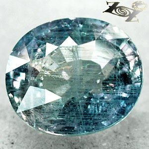 10.18 CT.Unheated Untreated Natural Oval 11.5 * 13 mm. Blue Green Sapphire Gems