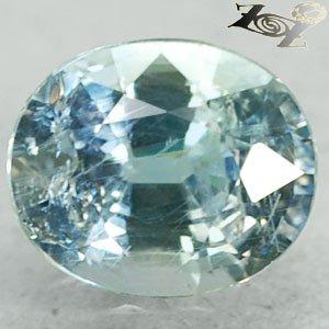 3.8 Ct.Full Fire Unheated Natural Oval 8*9.5 mm. Tanga Greenish Blue Sapphire
