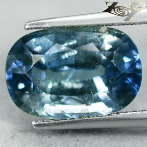 8.33 Ct.Full Fire Unheated Natural Cushion 9.5*14 Moderate Blue Tanga Sapphire