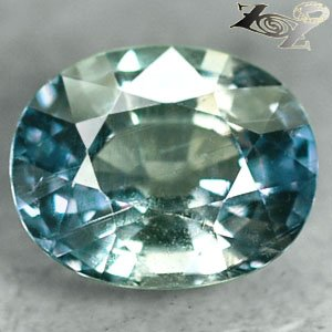 5.62 Ct.Full Fire Unheated Natural Oval 9.5*11.5 mm Blue Green Zone Sapphire