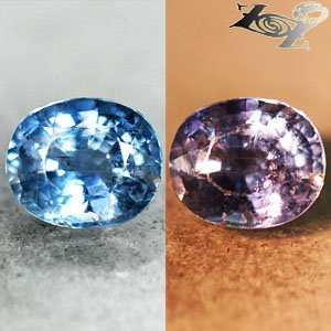 Firely Unheated Natural Oval 6*7.3 mm Tanga Intense Blue Sapphire 1.68 Ct.