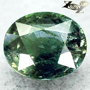 6.23 CT.Firely Unheated Natural Oval 10*12 mm. Vivid Forest Green Tanga Sapphire