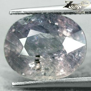 11.28 Ct.Big Unheated Natural Oval 12*14.5 Light Blueish Green Tanga Sapphire