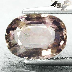 2.92 CT.Unheated Natural Oval 7*10 mm. Yellow Pink Tanzania Sapphire ����寶� Gems
