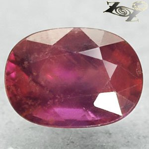 2.29 Ct.Unheated Natural Oval 6.5*9 mm. Intense Magenta Red Pink Sapphire ����寶�