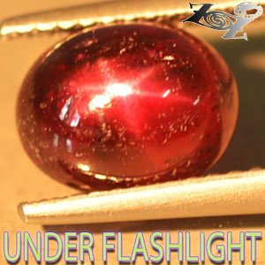 3.68 CT.Natural Oval 7*9 mm. Strong 6 Rays Star Madagascar Magenta Red Ruby Gems