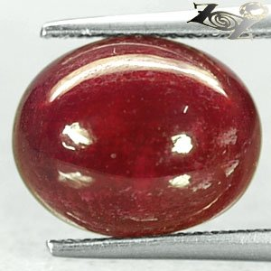 7.36 CT.Natural Oval 10*12.5 mm. Intense Pink Red Mozambique Ruby Corundum �寶�