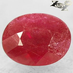 Natural Oval 5*6.5 mm Red Mogok Burma Myanmar Ruby Corundum 1.16 Ct.