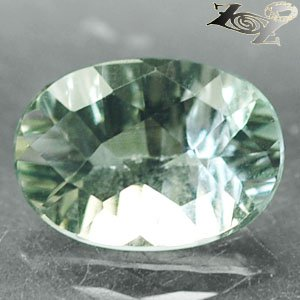 5.3 CT.Flawless Natural Oval Checkerboard Concave Green Amethyst Prasiolite Gems