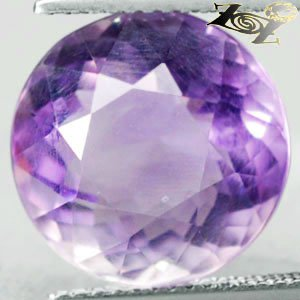 9.93 CT.VVS 1 Natural Round 13 mm. Intense Violet Purple Zambia Amethyst 紫��紫水�