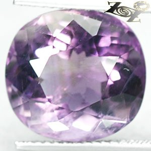 8.11CT.Full Fire Genuine100% Natural Oval 12*13mm Intense Violet Amethyst 紫��紫水�