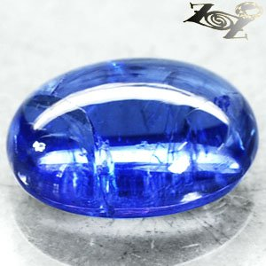 5.65 CT.Natural Oval 9 * 12 mm. Vivid Sweet Blue Tanzania Zoisite Tanzanite ��