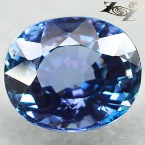 3.21 Ct.Full Fire Flawless Natural Oval 8*9 mm. Intense Blue Violet Tanzanite ��
