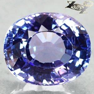 4.32 Ct.Full Fire Flawless Natural Oval 8.5*10mm Sweet Purple Tanzania Tanzanite