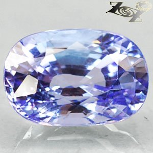 6.02 Ct.Flawless Full Fire Natural Oval 8.5*12.5 Sweet Purple Tanzania Tanzanite
