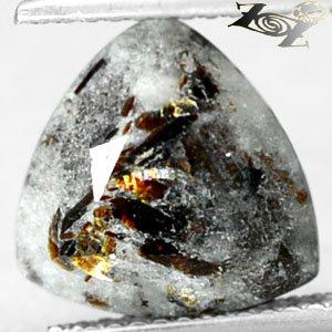 3.91 CT.Natural Trillion 11 mm. Spark Rich Orange Plates Matrix Lot Astrophylite