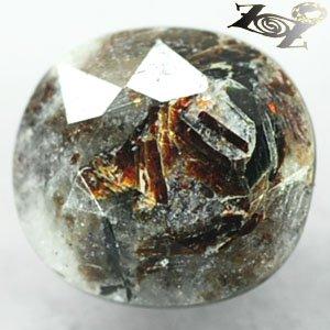5.15 CT.Natural Oval 9.5*10.5 mm Spark Orange Plates Full Table Astrophylite ���