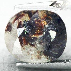 5.27 CT.Natural Oval 9.5*10.5 mm. Spark Orange Plates Matrix Russia Astrophylite