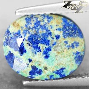 4.23 CT.Natural Oval 9.5*11 mm Blue Green Tenorite Azurite Chrysocolla ��礦��� ��