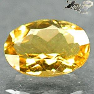 Flawless Natural Oval 6*8 mm. Intense Yellow Madagascar Beryl 1 CT.Gems ��綠��