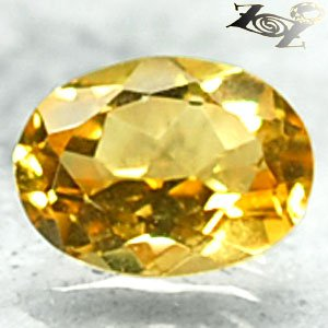 Firely Flawless Natural Oval 6*8 mm. Madagascar Intense Yellow Beryl 1.13 CT.Gem