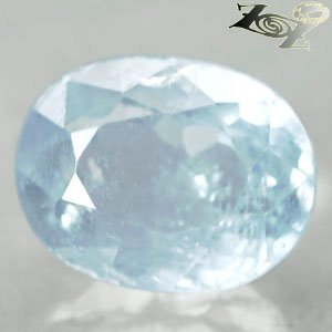12.65 CT,Natural Oval Facet 11*14 mm. Intense Ocean Blue Celestite Celestine Gem