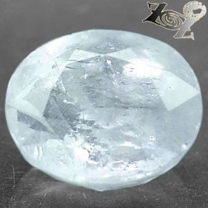 18.68 CT.Natural Oval 14*16mm. Rainbow Spark Ocean Blue Celestite @Zoultier ONLY