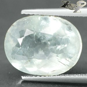12.79 CT.Natural Oval Facet 11.5*15 mm. Ocean Blueish Celestite @Zoultier ONLY !