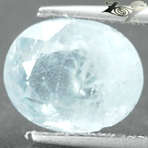 6.12 CT.Natural Oval Facet 9*11 mm. Intense Ocean Blue Celestite @ Zoultier Only