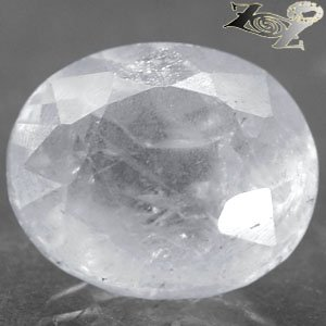 11.1 Ct.Natural Oval Facet 12*13.5 mm. Ocean Blue Mada Calestite Celestine Gems