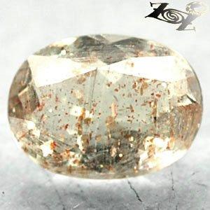 2.04 CT.Natural Oval 7*9.5 Spark Hematite Kiwi Green Illusion Confetti Sunstone