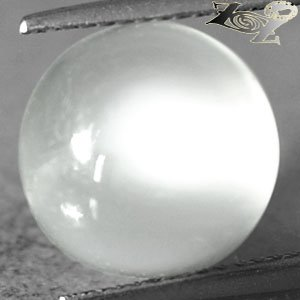 7.22 CT.Natural Round 12 mm.Strong Cat's Eye Effect Silky Yellow Moonstone Gems
