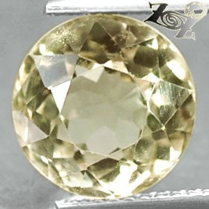 4.9 CT.Full Fire Flawless Natural Round 10.2 mm. Yellow Orthoclase Feldspar ��