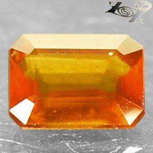 2.16 Ct.Firely Natural Emerald 6.5*8.5mm Mandarin Orange Hessonite Garnet �榴��榴�