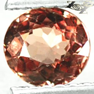 Flawless Natural Oval 5*5 mm Intense Padparadscah Malaya Garnet 0.75 CT 馬���榴�
