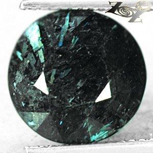 5.91 CT.Natural Round 11.5 mm Titanium Blue Schiller Streaks Mauritania Jenakite