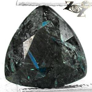 3.3 CT.Natural Trillion 10 mm Titanium Blue Schiller Streaks Mauritania Jenakite