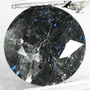 4.5 Ct.Rare Natural Round Titanium Blue Schiler Steaks Jenakite Nuummite