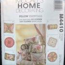 MCCALLS M4410 HOME DECORATING PATTERN