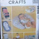 MCCALLS 2824 CRAFT PATTERN BABY THINGS