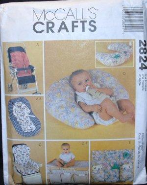 Mccalls 2824 Craft Pattern Baby Things