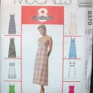 MCCALLS  9370 MISSES' DRESS  IN TWO LENGTHS