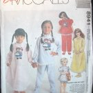 MCCALLS  8941 Children's & Girls Nightgown & Pajamas