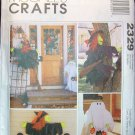 MCCALLS 2329 CRAFT PATTERN HALLOWEEN DECORATIONS