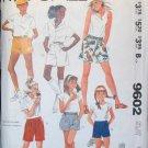 MCCALLS  9602 Girls' Shorts