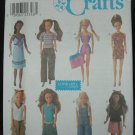 "Simplicity 8457 11 1/2"" Doll Dress Patterns"