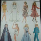 "Simplicity 8333 11 1/2""  Doll Dress Patterns"