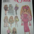"Simplicity 7952 11 1/2""  Doll Costume Patterns"